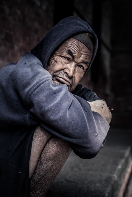 Nepali man in Kathmandu