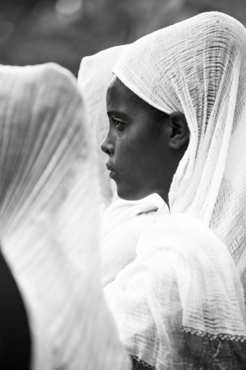 Ethiopian woman in Addis Ababa